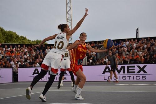 8 Paula Palomares (ESP), 10 Aleksandra Stolyar (RUS)