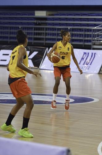 6 Betinah Nora Dobunaba (PNG), 7 Normalisa Michelle Dobunaba (PNG)