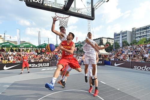 Spain vs New Zealand (2015 FIBA 3x3 U18 World Championships)