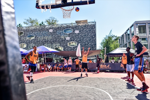 Urban project 3x3 basket event