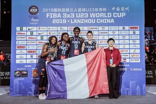 30 Victoria Majekodunmi (FRA), 13 Anna Ngo Ndjock (FRA), 12 Catherine Mosengo Masa (FRA), 10 Maud Stervinou (FRA)