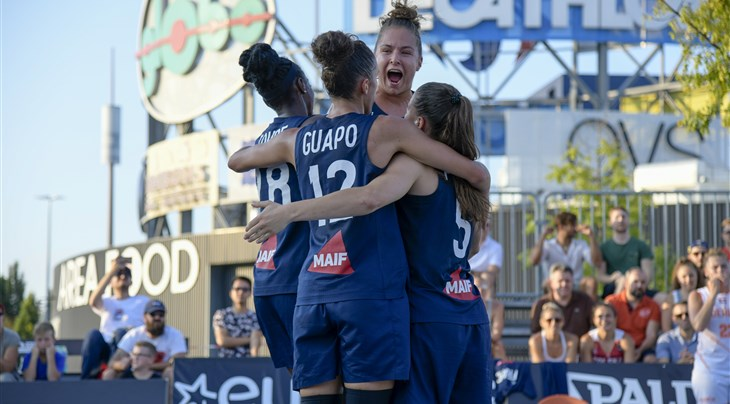 France continue to dominate FIBA 3x3 Women's Series with victory at Udine Stop