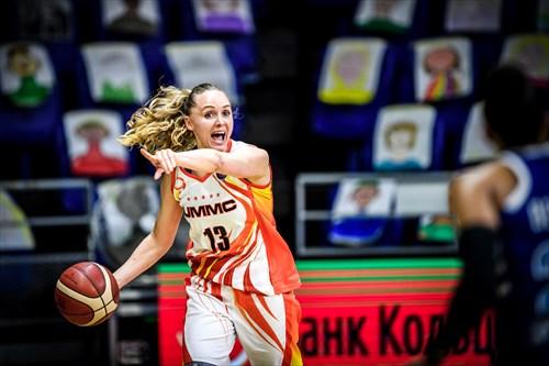 13 Elena Beglova (UMMC), UMMC vs KURS
