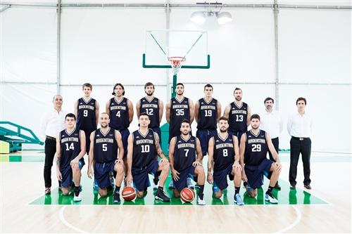 Argentina team photo
