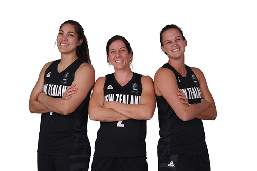 Kalani PURCELL, Micaela COCKS & Jillian HARMON (New Zealand)