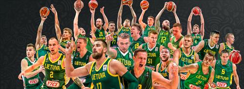 Valanciunas, Sabonis headline Lithuania's candidates for World Cup