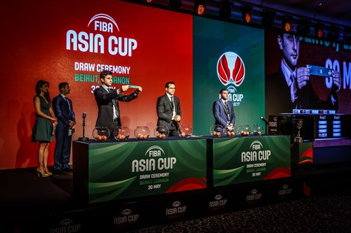 FIBA Asia Cup 2017 draw ceremony