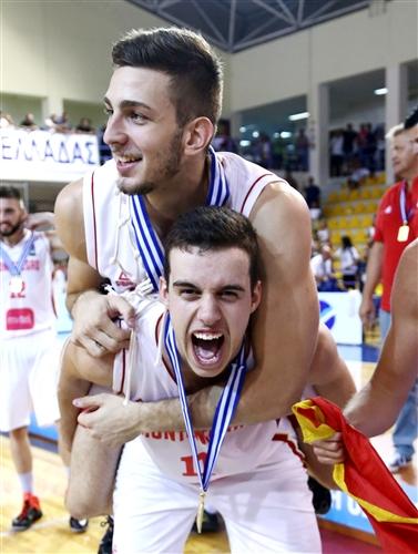 8 Mihailo Radunovic (MNE), 11 Vasilije Bacovic (MNE)