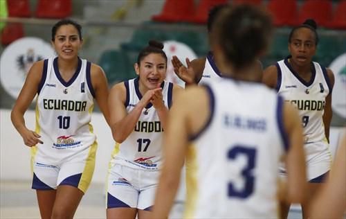 17 Doris Lasso (ECU), 10 Anabel Barahona (ECU)