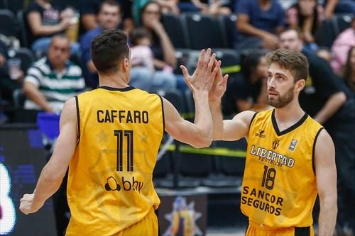 18 Nicolas Copello (LIB), 10 Juan Cangelosi (LIB)