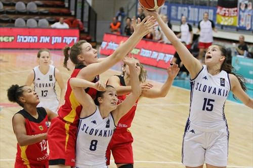 15 Veronika Remenarova (SVK), 8 Alexandra Haskova (SVK)