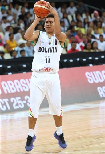 11 Axel Veizaga Vargas (BOL)