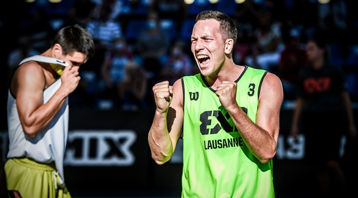 Lausanne impress again on Day 1 at FIBA 3x3 World Tour Europe Masters 2020