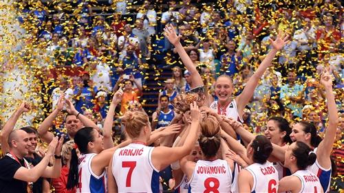 Serbia vs France; 15 Danielle PAGE (Serbia)