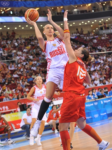 Irina OSIPOVA won her second bronze medels in women's basketball