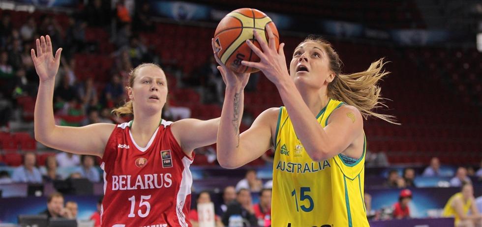 Cayla GEORGE (AUS)'s profile - FIBA World Championship for Women