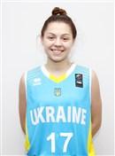Headshot of Yuliia Musiienko