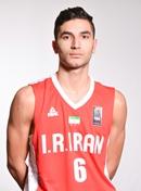 Headshot of Mohammad Hossein Jafari