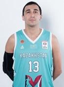 Headshot of Rustam Yergali