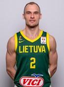 Headshot of Dovis Bickauskis