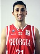 Headshot of Akaki Dvalishvili