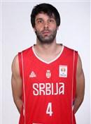 Headshot of Milos Teodosic