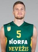 Headshot of Justas Tamulis