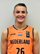 Headshot of Lisanne de Jonge