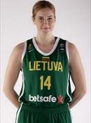 Headshot of Eglė Šikšniūtė