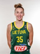 Headshot of Mantė Kvederavičiūtė