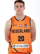 Headshot of Luuk van Bree