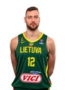 Headshot of Donatas Motiejunas
