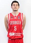 Headshot of Luka Zakradze