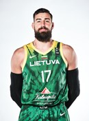 Headshot of Jonas Valanciunas