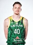 Headshot of Marius Grigonis