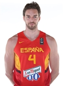 Headshot of Pau Gasol