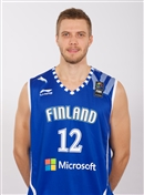 Headshot of Matti Eemeli Nuutinen