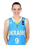 Headshot of Liudmyla Naumemko