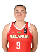 Headshot of Volha Ziuzkova