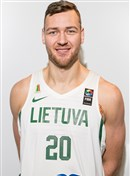 Headshot of Donatas Motiejunas