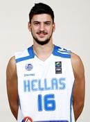 En segundo lugar Mujer joven Frugal  Nikolaos DIPLAROS (GRE)'s profile - FIBA U20 European Championship Division  B 2016 - FIBA.basketball