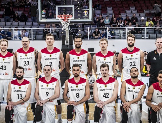Image result for basketball world cup 2019 German team