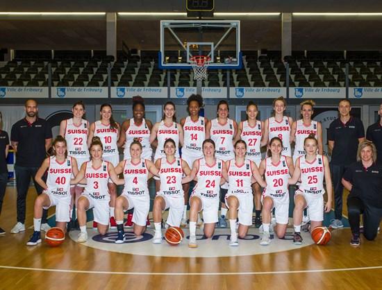 93fc757292b Switzerland - FIBA Women's EuroBasket 2019 Qualifiers 2019 - FIBA.basketball