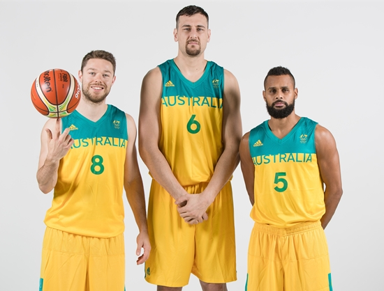 2f93c289907e Australia - 2016 Rio 2016 - Olympic Basketball Tournament (Men) - FIBA. basketball