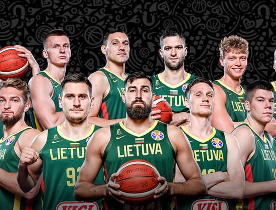 Lithuania - FIBA Basketball World Cup 2019 - FIBA.basketball