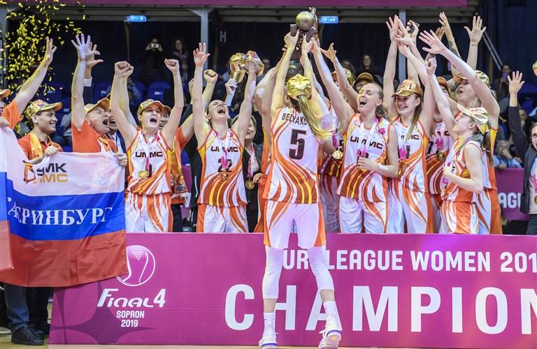 EuroLeague Women 2018-19 - FIBA basketball