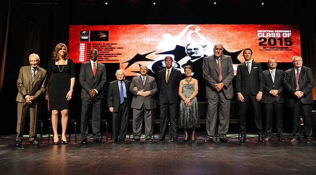 2015 FIBA Hall of Fame Induction Ceremony