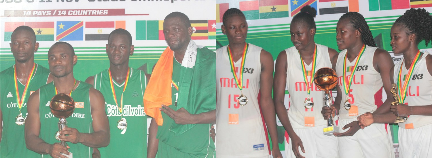 Cote d'Ivoire's men and Mali's women win FIBA 3x3 Africa Cup 2018