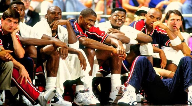 La primera presentación del Dream Team fue en la FIBA AmeriCup ...
