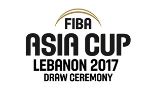 Media accreditation open for Official Draw Ceremony of FIBA Asia Cup 2017